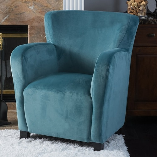 Teal Living Room Chair 3