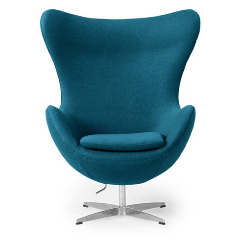 Teal Living Room Chair 4