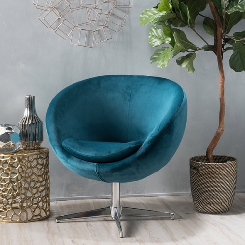Teal Living Room Chair 5