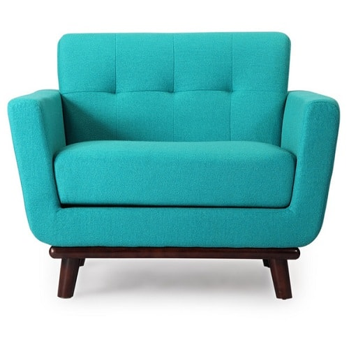 Teal Living Room Chair 6