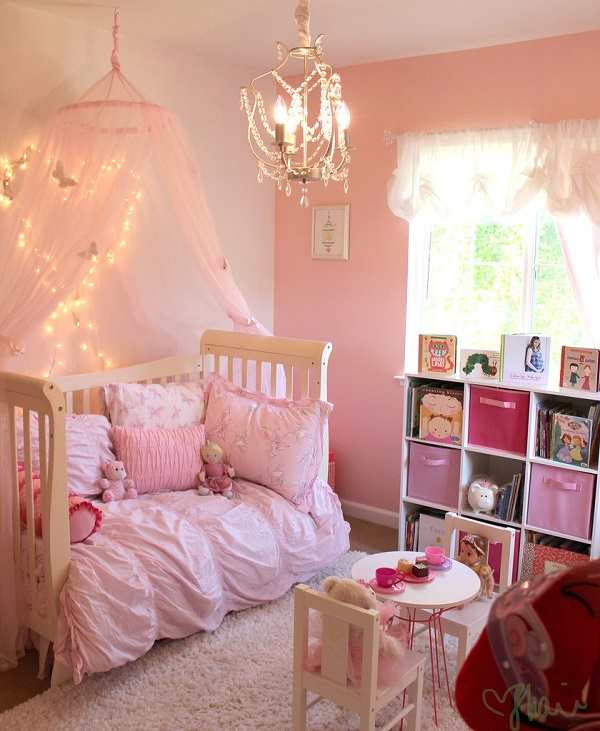 10 fun and beautiful toddler girl bedroom ideas on a budget for Beautiful room design for girl