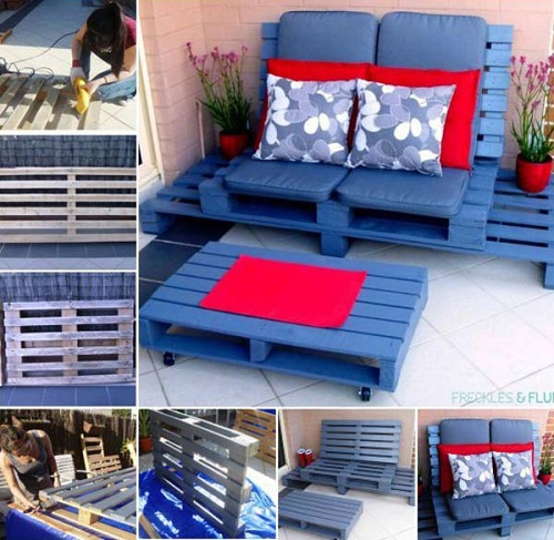 Wood Pallet Furniture 3