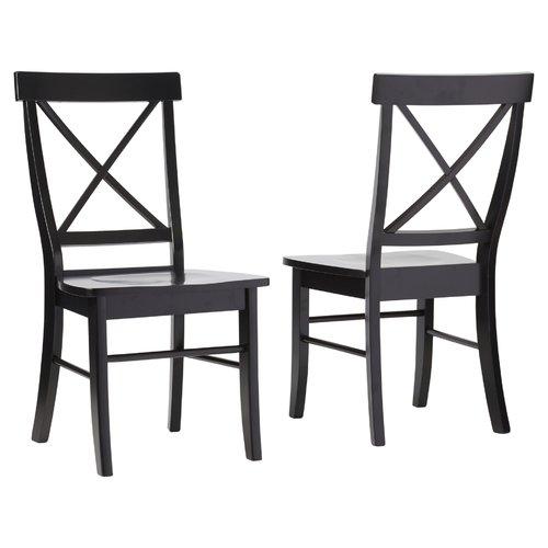 black wooden kitchen chairs 1
