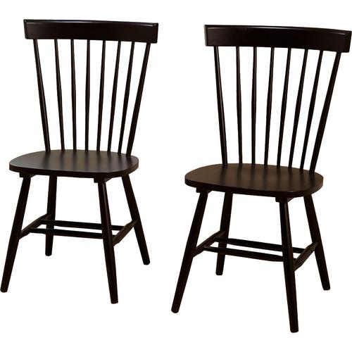 black wooden kitchen chairs 10