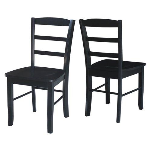 Black Kitchen Furniture: 12 Elegant And Beautiful Black Kitchen Chairs Under $170