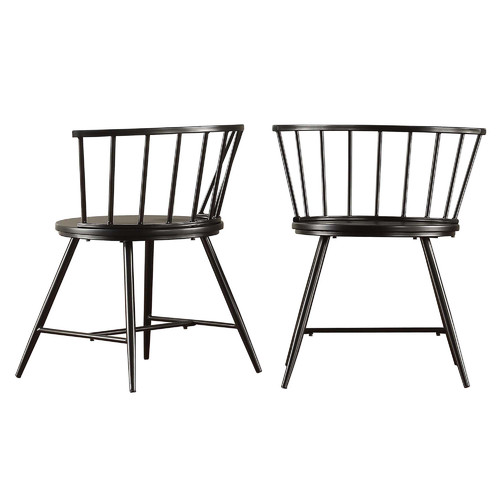 black wooden kitchen chairs 14