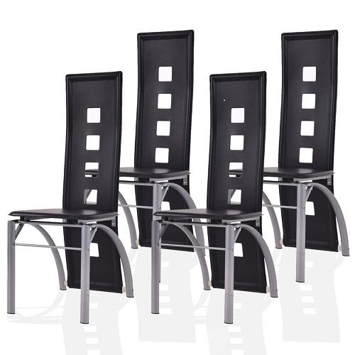 black wooden kitchen chair 8