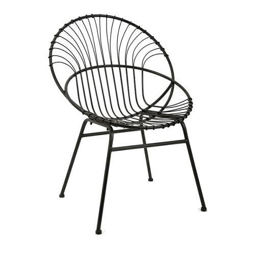 black wooden kitchen chairs 9