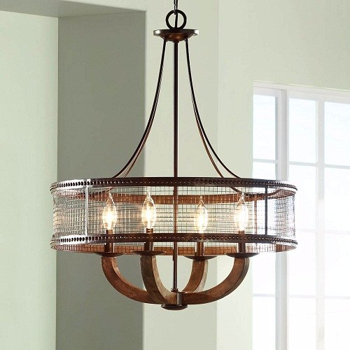 bronze-dining-room-light