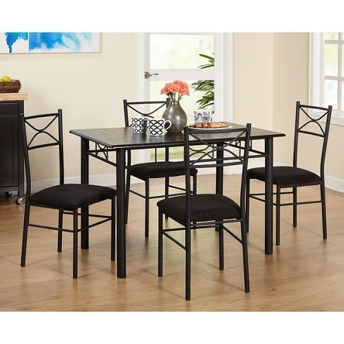 7 gorgeous cheap dining room sets under 200 bucks for Cheap dining room sets