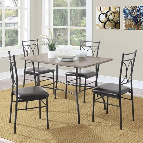 discount dining room furniture sets | 7 Gorgeous Cheap Dining Room Sets Under 200 Bucks