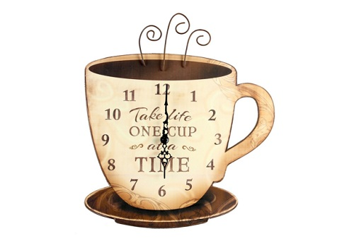 coffee clocks kitchen 1
