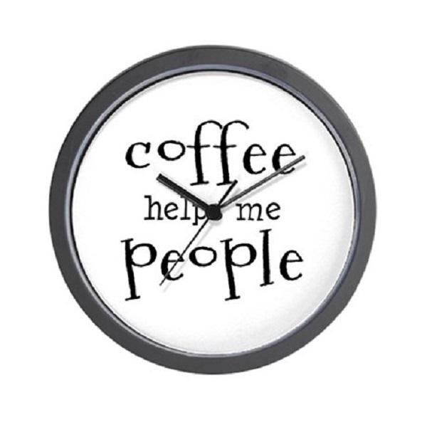 coffee clocks kitchen 9