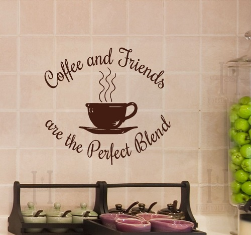 Coffee Decor For Kitchen: 8 Sweet And Lovely Coffee Clocks Kitchen For Decoration