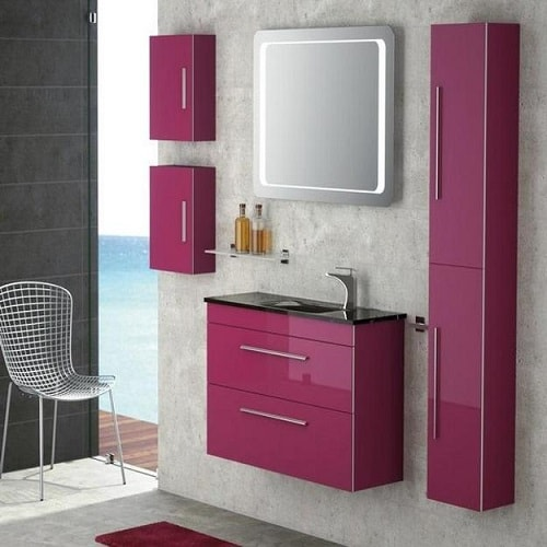 colored bathroom vanity 15 12168