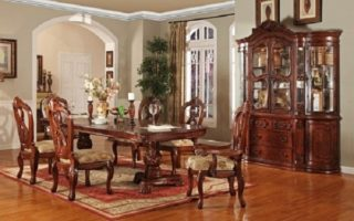 High end dining room set