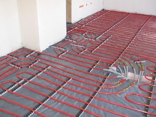 Heated Bathroom Floor travertine tile bathroom with heated floor Heated Floors In Bathroom