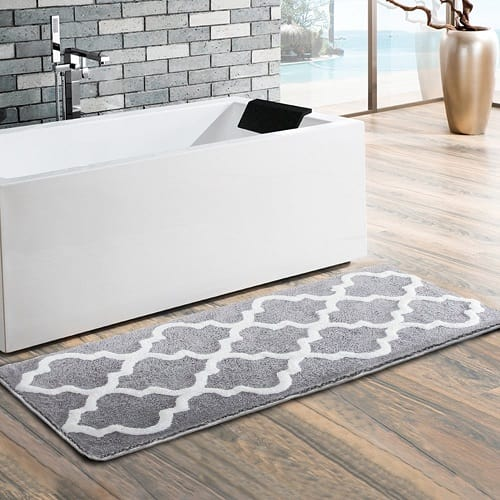 long bathroom rugs
