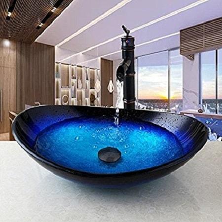 low profile bathroom vanity