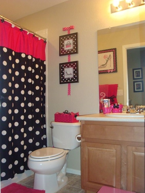 minnie mouse bathroom set