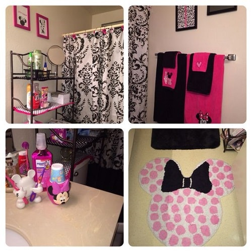 10 catchy and inviting minnie mouse bathroom set ideas for Pretty bathroom sets