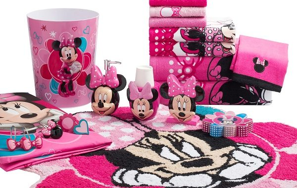 minnie mouse bathroom set