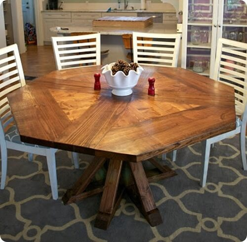 octagon kitchen table 0