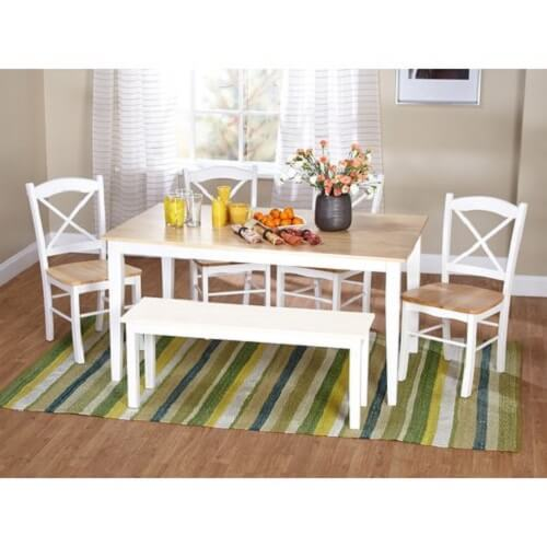 picnic style kitchen table 0