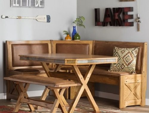 picnic style kitchen table 19