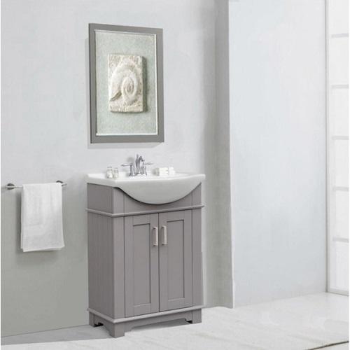 prefab bathroom vanity