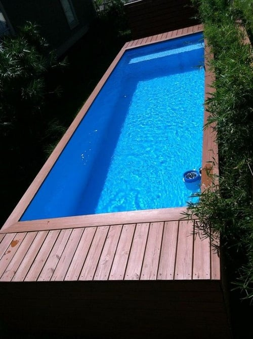 top 9 gorgeous shipping container swimming pool ideas of 2017. Black Bedroom Furniture Sets. Home Design Ideas