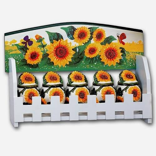 sunflower kitchen decor theme 8
