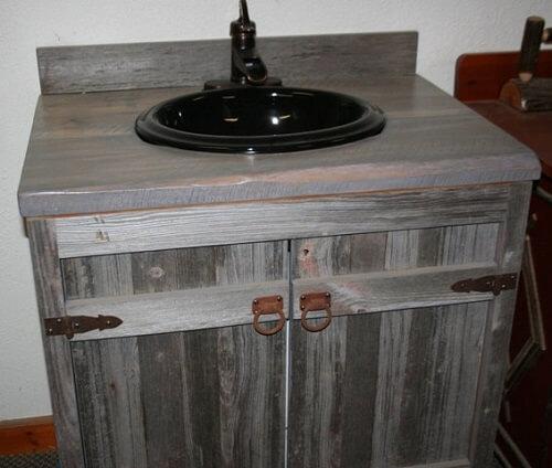 wood bathroom vanities canada reclaimed vanity for sale bath top weathered gray
