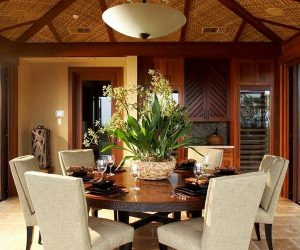 round dining room table for 6