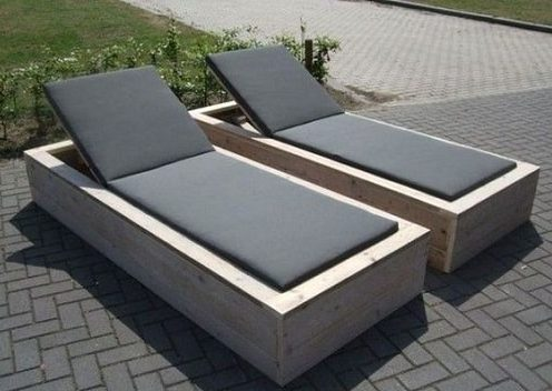 wood pallet lounger ideas 1