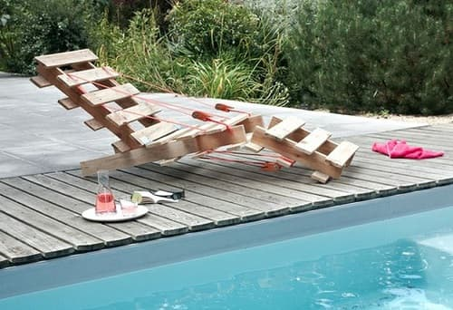 wood pallet lounger ideas 10