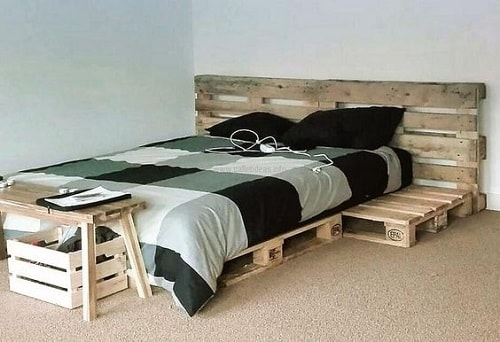 wood pallet lounger ideas 15