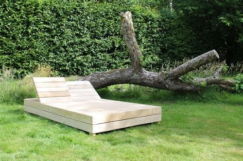 wood pallet lounger ideas 16