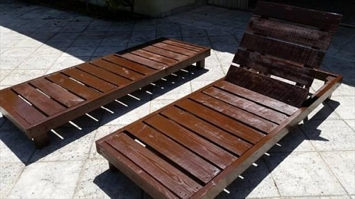 wood pallet lounger ideas 2