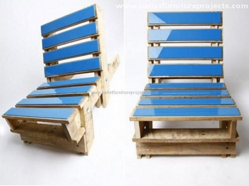 wood pallet lounger ideas 20