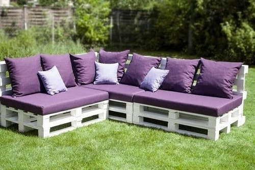 wood pallet seating set ideas 20