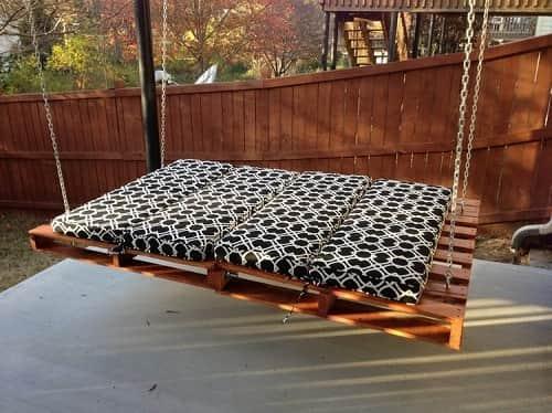 wood pallet swing ideas 1