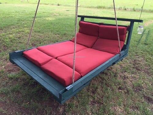 wood pallet swing ideas 17