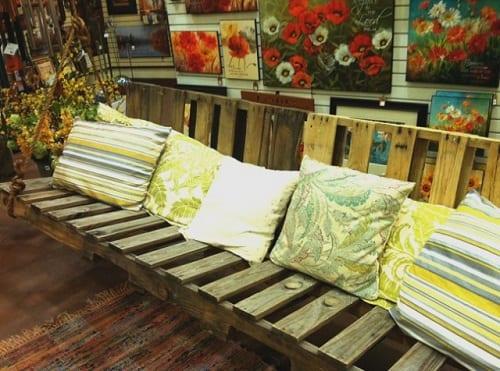 wood pallet swing ideas 19