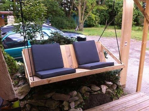 wood pallet swing ideas 2