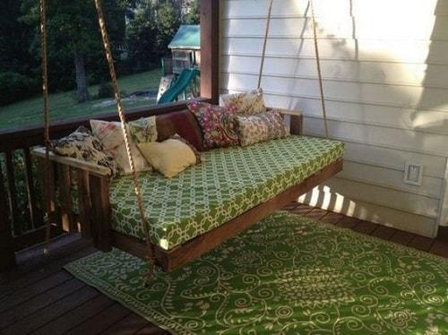 wood pallet swing ideas 20