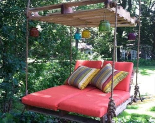 wood pallet swing ideas 3
