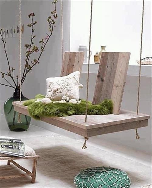 wood pallet swing ideas 5