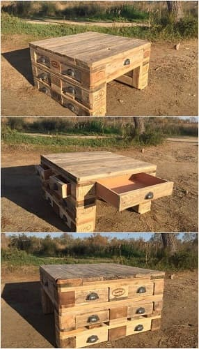 wood pallet table ideas 1