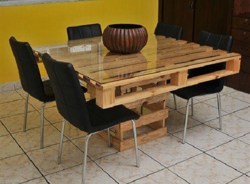 wood pallet table ideas 13